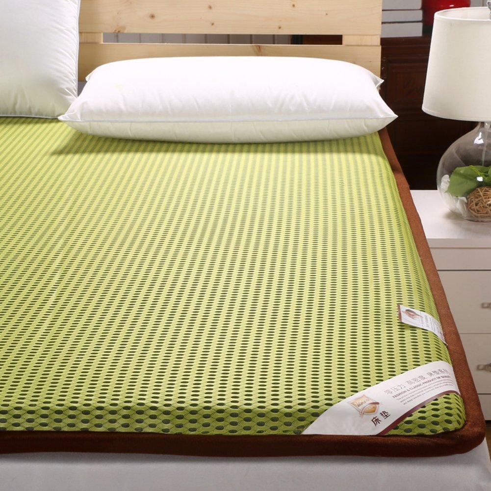 DHWJ Leaning hard mattress bed mattress,Dormitory mattress mat,Collapsible tatami mat quilt-A 90x195cm(35x77inch)