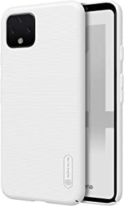 Google Pixel 4 XL Case, Nillkin Frosted Shield Hard Slim Case Back Cover for Google Pixel 4 XL - White