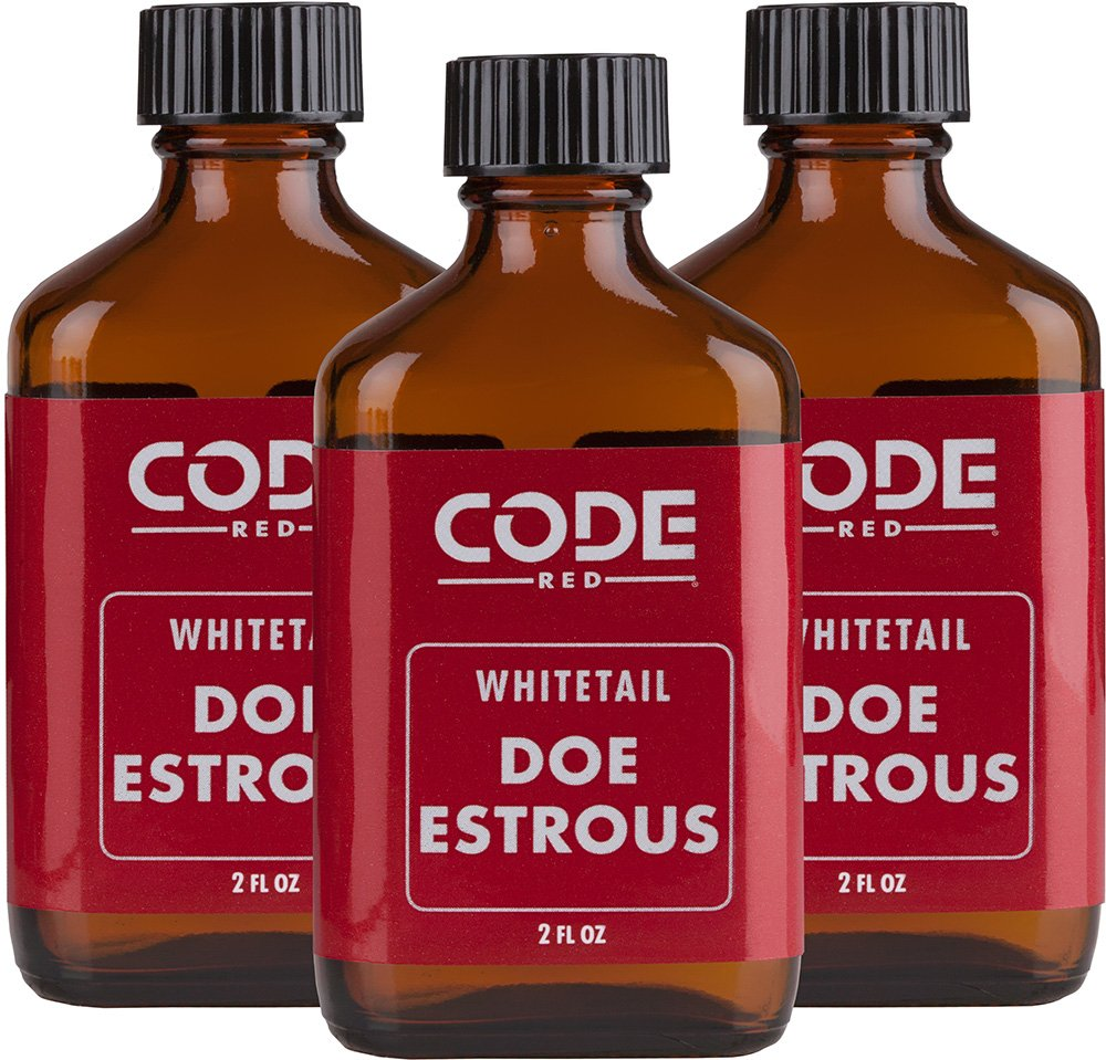 Code Blue Code Red Whitetail Doe Estrous Triple Pack by Code Blue (Image #1)