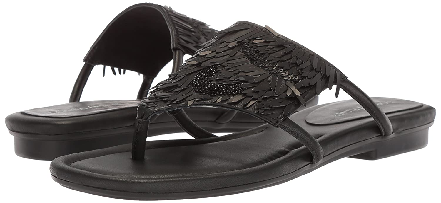 Donald J Pliner Women's Kya Slide Sandal B0755BP586 7.5 N US|Black