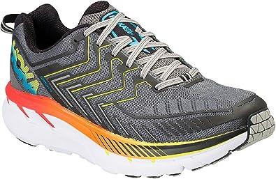 Hoka Clifton 4 - Zapatillas de running para hombre, color azul Gris Size: 47 1/3 EU: Amazon.es: Deportes y aire libre
