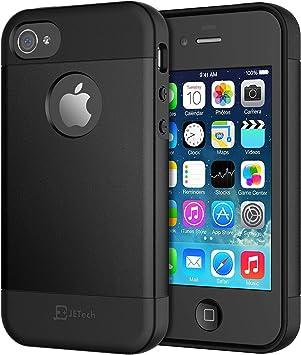 Jetech Funda Para Iphone 4 Y Iphone 4s Negro Amazon Es Electrónica