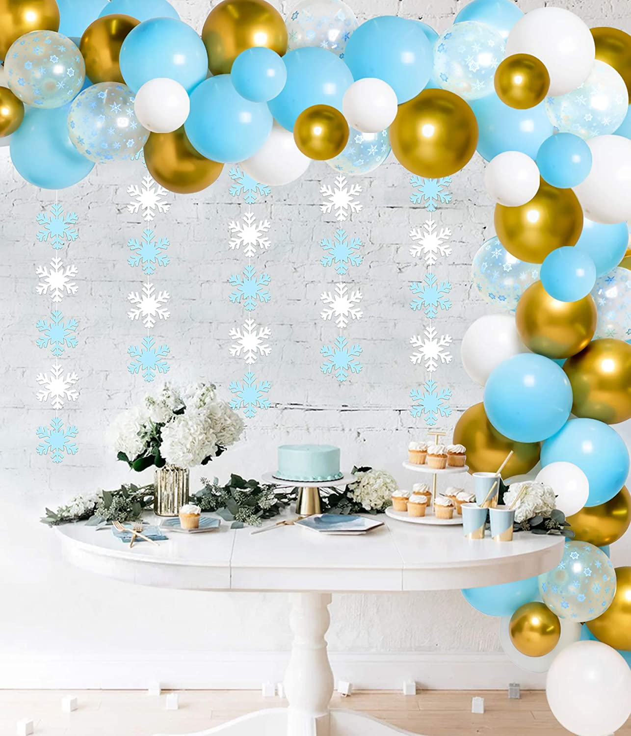 You choose colors Princess Table decor Centerpiece Baby shower or 1st birthday decor Turquoise Gold