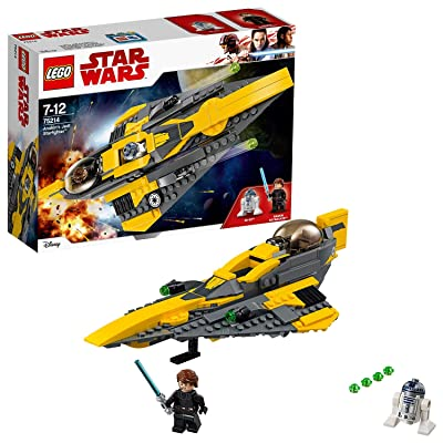 LEGO Anakin's Jedi Starfighter Star Wars: Toys & Games