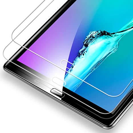 2 Pack For Samsung Galaxy Tab A 10.1 Screen Protector Tempered Glass Anti Scratc
