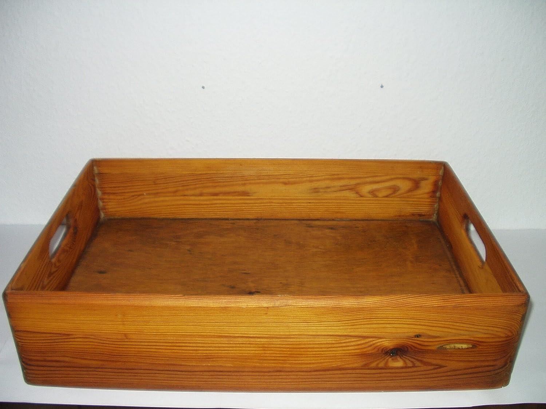 Unbekannt Madera, 60 x 40 cm, apilable, Caja apilable, Caja de ...