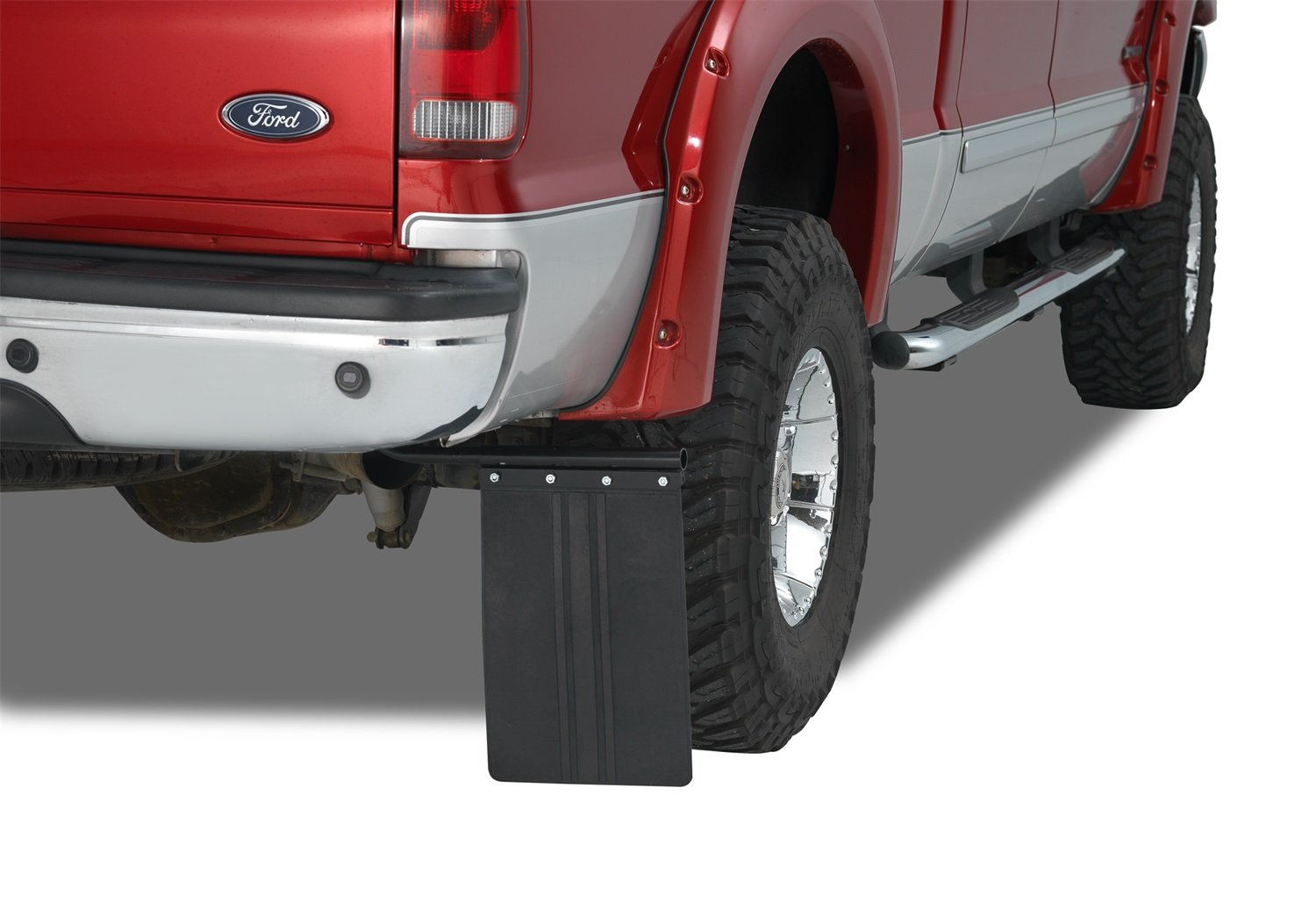 Warrior Products 4000 Universal Mud Flap Bracket Kit with 12 X 18 Mud Flap WRR:4000