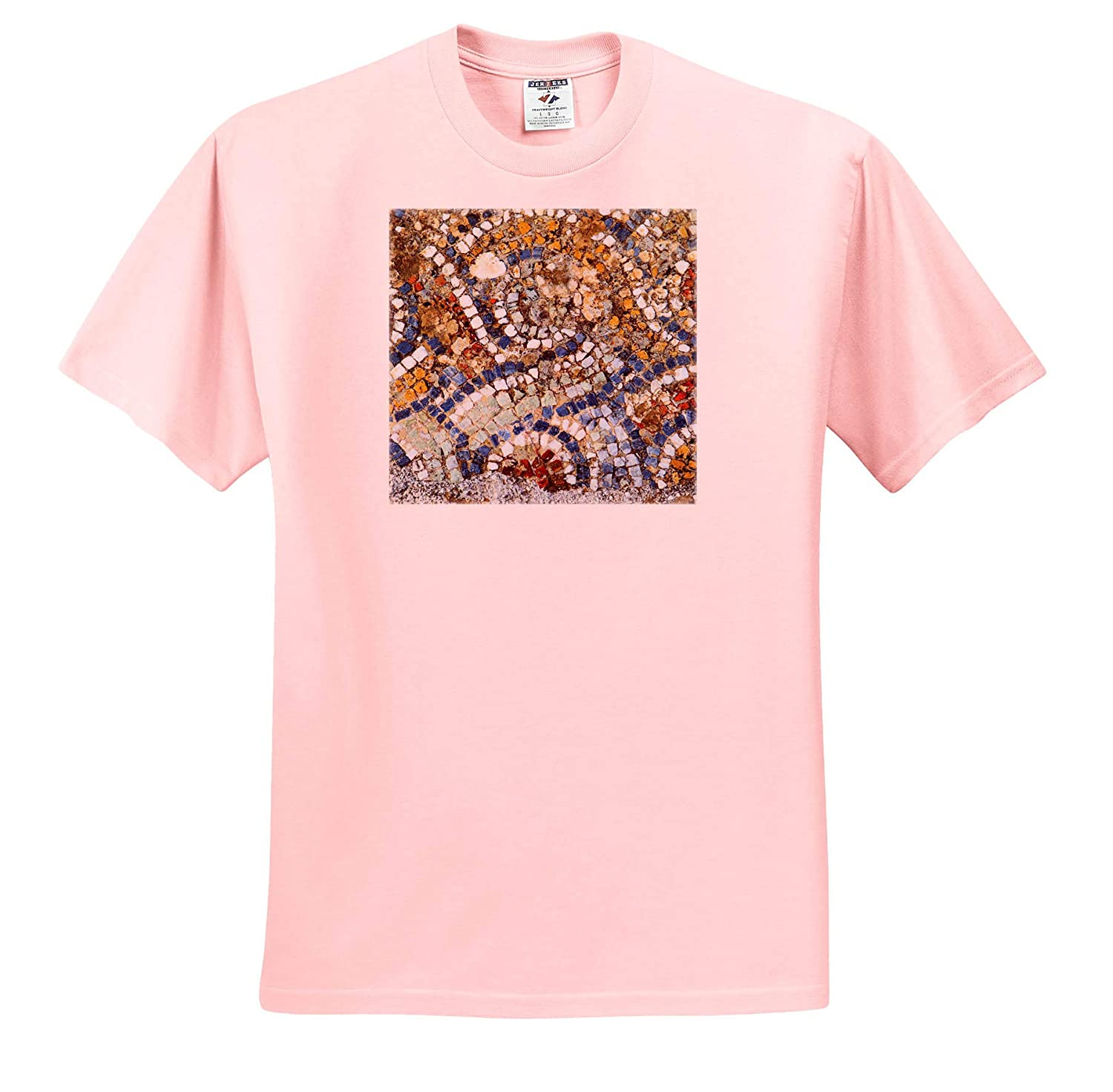 Selcuk ts/_312852 Ancient City Ephesus 3dRose Danita Delimont Turkey Abstracts - Adult T-Shirt XL Mosaic Floor