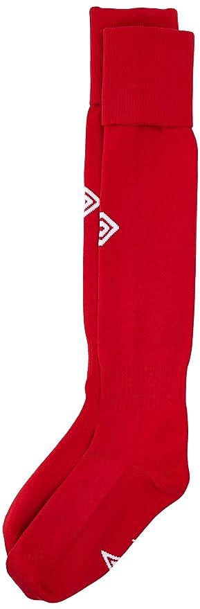 Umbro – Camiseta de la Liga Calcetines de fútbol, Hombre, League, Rojo