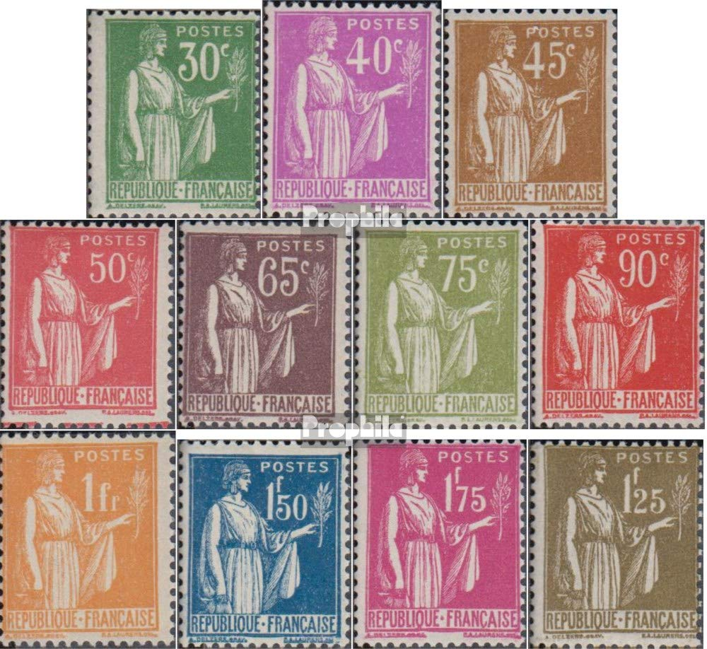 Prophila Collection Frankreich 273-283 (kompl.Ausg.) 1932 Frieden (Briefmarken für Sammler)