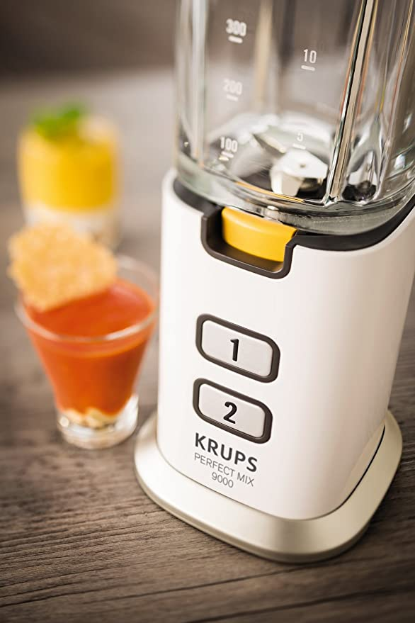 Krups Perfect Mix 9000 Batidora, 300 W, acero inoxidable cepillado ...