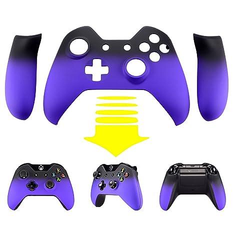 Amazon.com: extremerate púrpura sombra Soft Touch Carcasa ...
