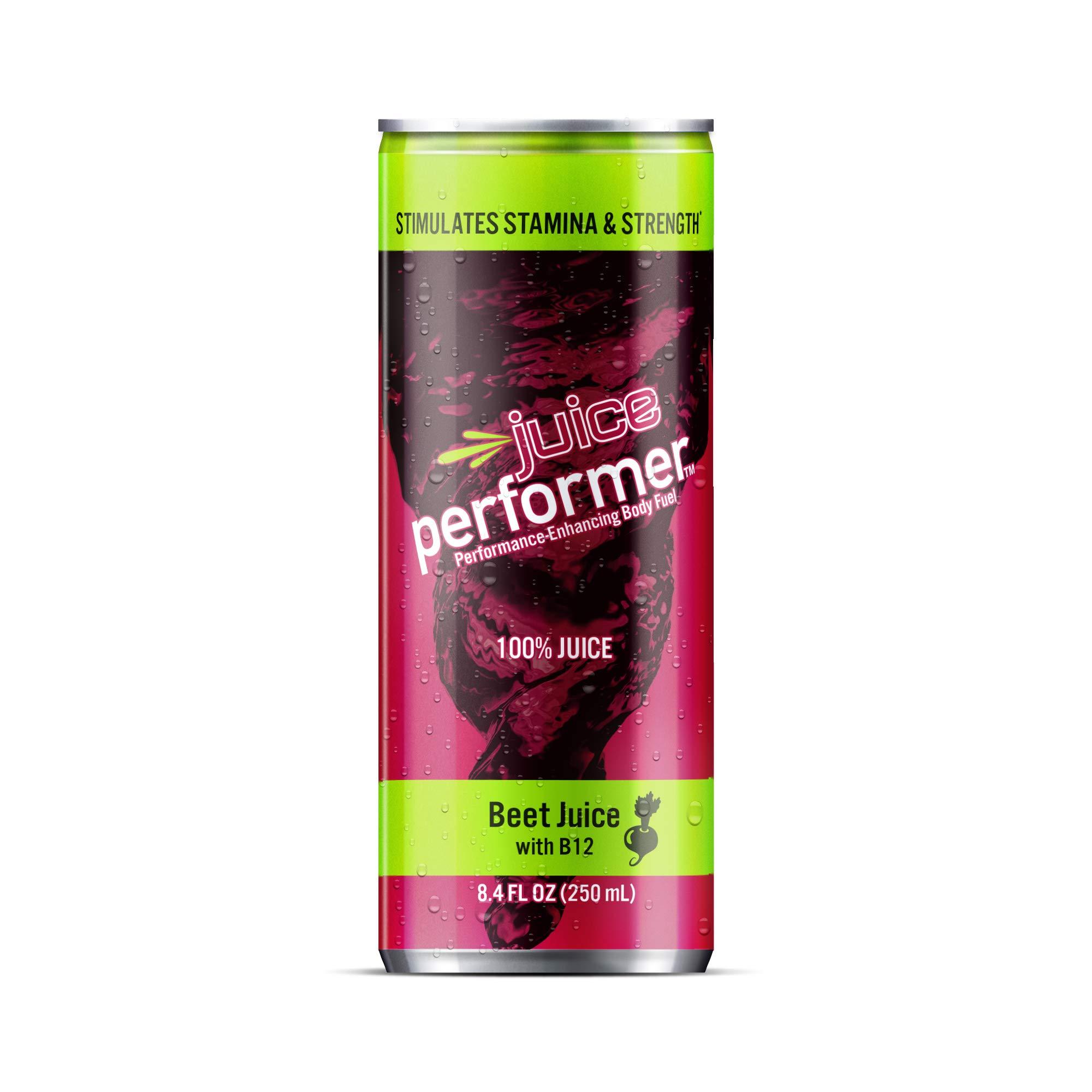Beet Performer Beet Juice with B12 8.4 Fl. Oz. (Pack of 12) by Beet Performer