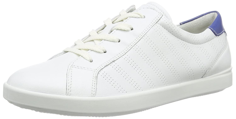 ECCO Footwear Womens Aimee Sport Tie Fashion Sneaker B00VR2JTQQ 41 EU/10-10.5 M US|White/Mazarine Blue