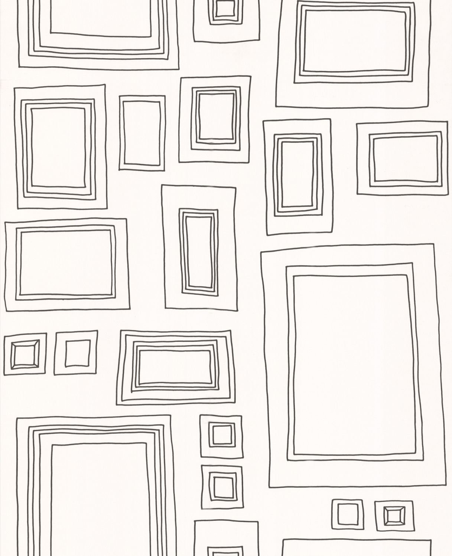 Papier-Tapete Frames Kollektion Frames: Amazon.de: Baumarkt