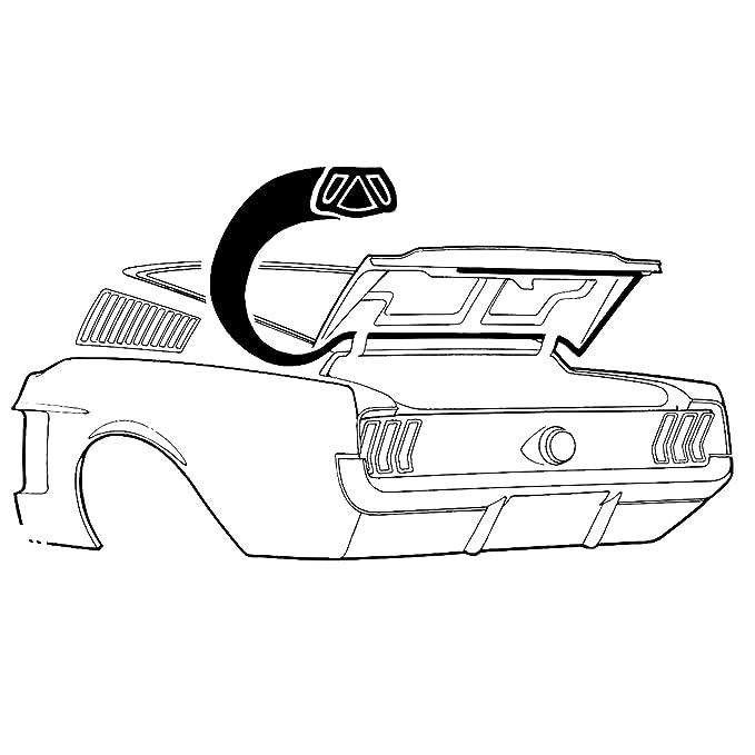 amazon goodmark replacement deck lid seal gmk302170367 for 1967 1968 Mustang Accessories amazon goodmark replacement deck lid seal gmk302170367 for 1967 1968 ford mustang automotive