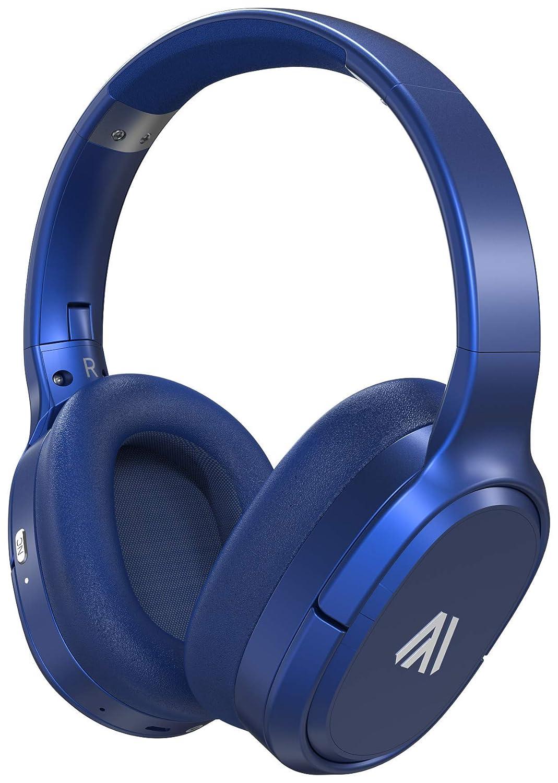 Altigo Wireless Bluetooth Headphones (Over Ear | Active Noise Cancelling) - Blue