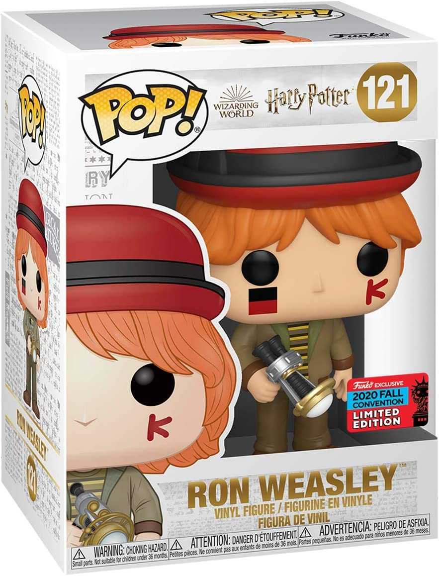 POP Funko Harry Potter 121 Ron Weasley 2020 Fall Convention ...