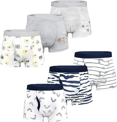 5-10-20er Pack Jungen Boxershorts Unterhosen Kinder Unterwäsche Baumwolle Slip