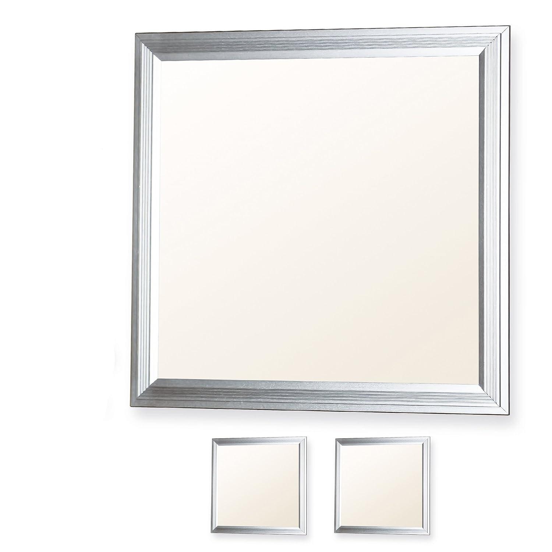 LEDVero 2er Set 30x30cm Ultraslim LED Panel dimmbar 10W, 800lm, 3000K Deckenleuchte mit Befestigungsclips und EMV2016 Trafo -Warmweiß- Energieklasse A+