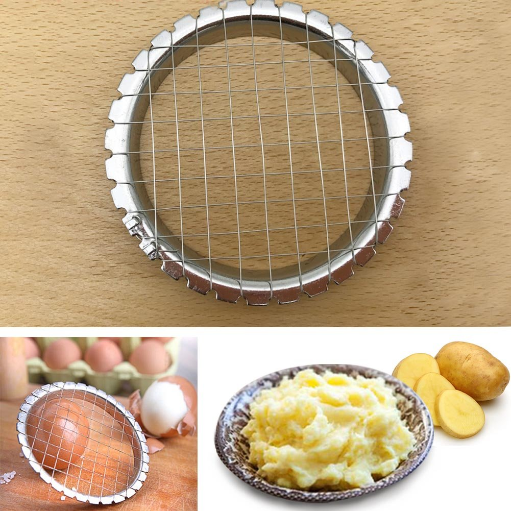 Stainless Steel Egg Slicer Mushrooms Potato Cutter Chopper Kitchen Cooking Tool GETMORE7