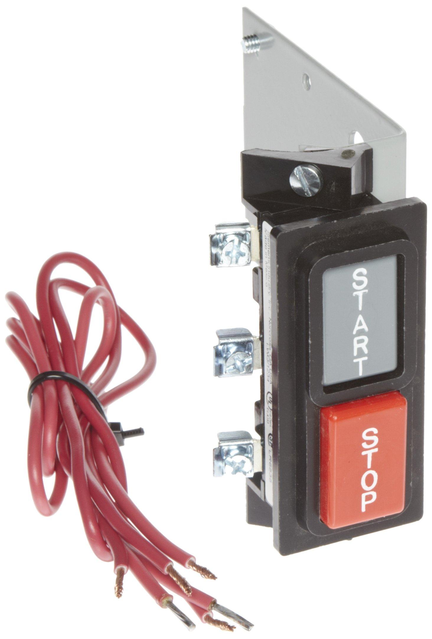 Siemens 49SBPB5 Pilot Device, Start, Stop Push Buttons, 14, 40, LEN, CLM Class, 1 Enclosure Type, 00-4 or (20-100A) Controller Size
