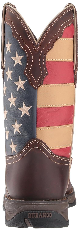 Durango Women's Lady Rebel Western Boot B074DHLLGL 8.5 B(M) US|Brown/Union Flag