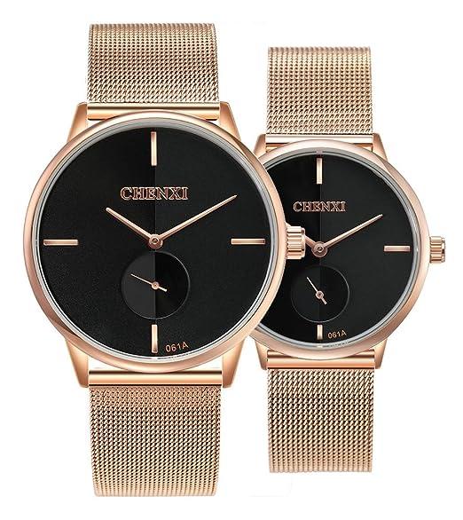 Amazon.com: Swiss Brand - Reloj de pulsera para pareja ...