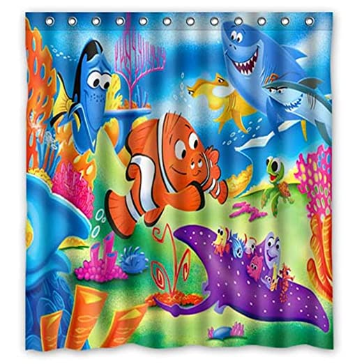 66 Quotx72quot Finding Nemo Shower Curtain
