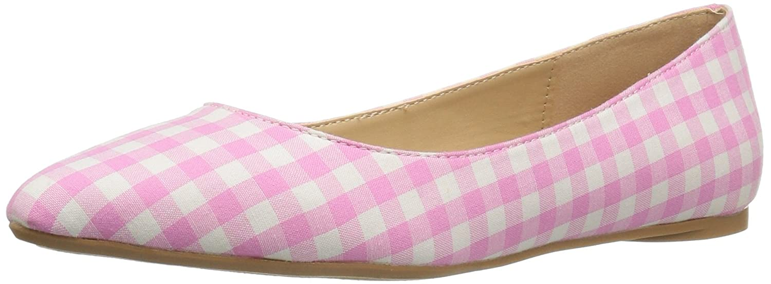 Penny Loves Kenny Women's Aaron II Ballet Flat B01NCJ7H4M 12 W US|Pink/White