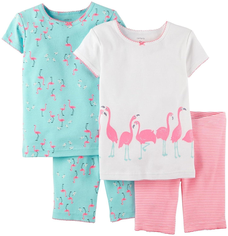 人気定番 Carter 's Baby Girls ' 4 (ベビー) Set Piece Short ' PJ Set (ベビー) Flamingo 6 Months B00W9OUDXE, 藤沢町:ae30d1af --- turtleskin-eu.access.secure-ssl-servers.info