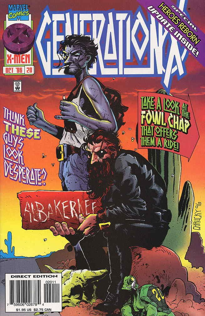 Read Online Generation X (1994) #20 ebook