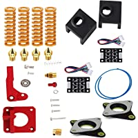 SODIAL 3D Printing Accessories Springs Extruder Sock Tube Stepper Dampers Smoother Kit Fit for Creality Ender 3 3D Printer