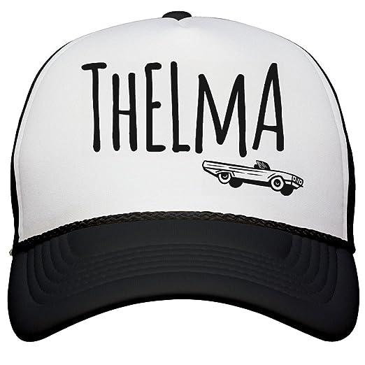 Amazon.com  Customized Girl Thelma   Louise Hats  Snapback Trucker ... 012790651c8c