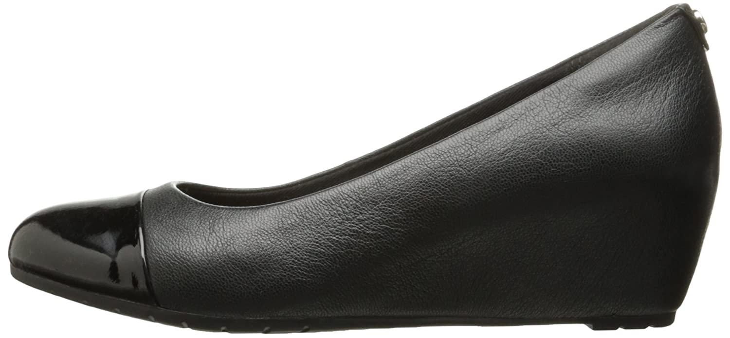 CLARKS Womens Vendra Dune Wedge Pump