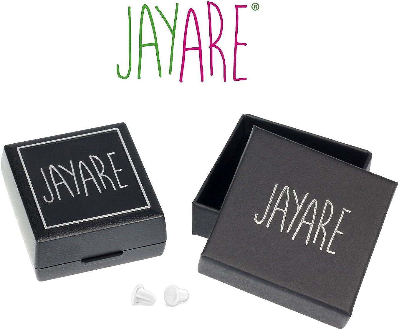JAYARE Boucles doreilles Enfants sir/ènes argent sterling 925 Email clou doreilles fille
