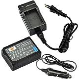 DSTE Ricambio Batteria + DC124E Caricabatteria per Samsung BP-1030NX200NX210NX300NX1000NX1100NX2000NX300M NX500 come BP1030BP1130ED-BP1030