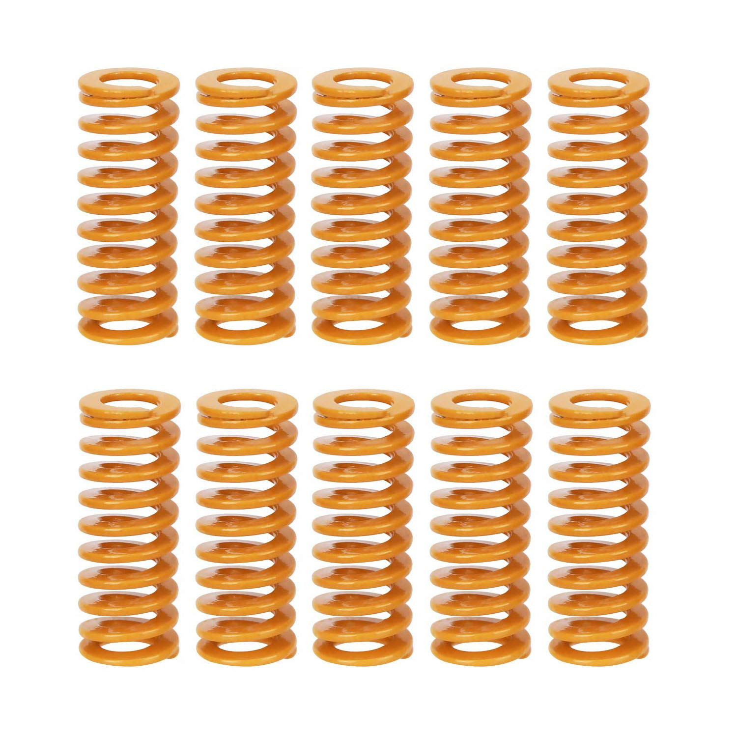 3D Printer Heat Bed Springs Compression Springs Bottom Connect Leveling M3 Screw Light Load for Creality CR-10 10S S4 Ender 3 Ender 3 Pro
