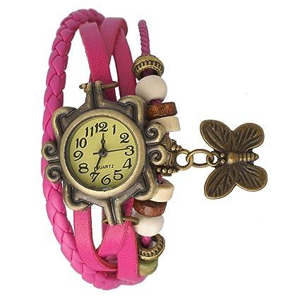 Alkh Analogue Girl's & Women's Watch - HOT Pink DORI