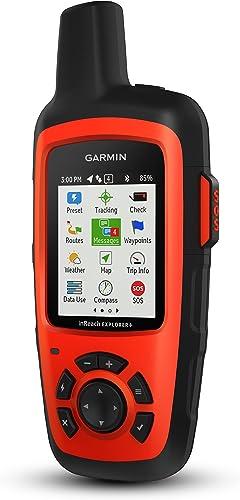 Garmin inReach Explorer , Handheld Satellite Communicator with TOPO Maps and GPS Navigation Renewed