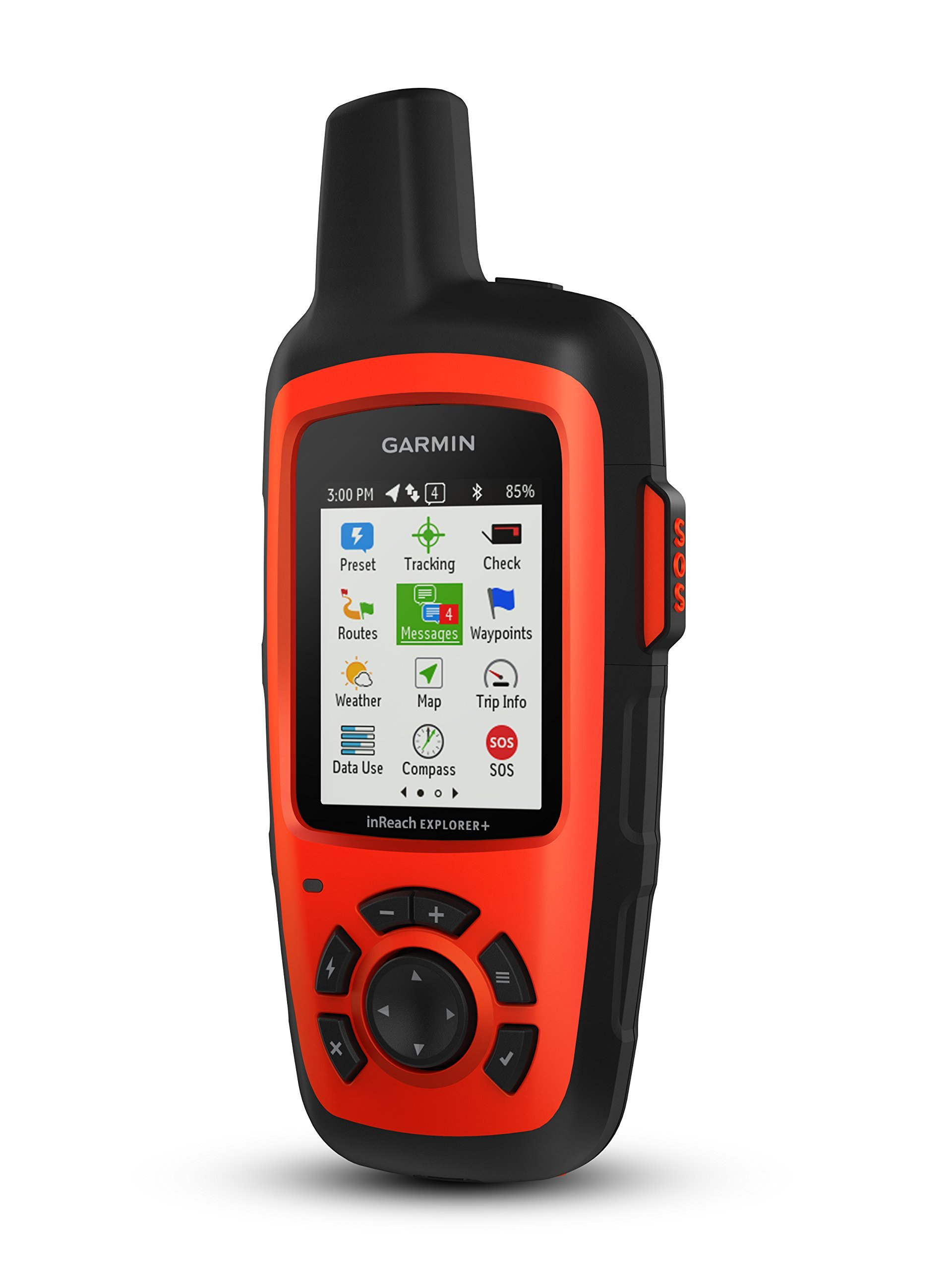 Garmin inReach Explorer+, Handheld Satellite Communicator with TOPO Maps and GPS Navigation (Renewed) by Garmin