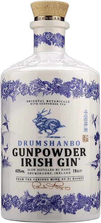 Drumshanbo Gunpowder Irish Gin Ceramic, 70 CL - Amazon Exclusive