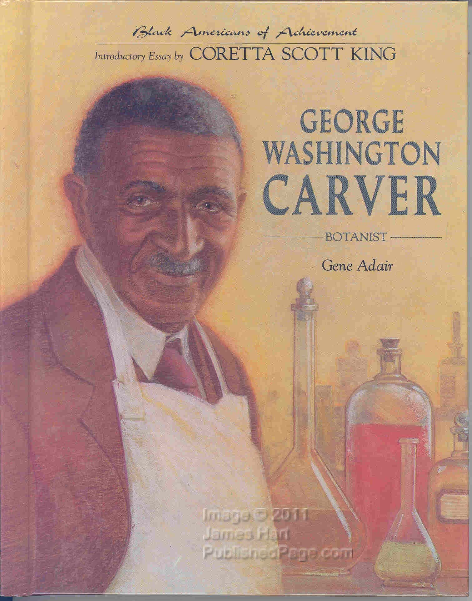 com george washington carver botanist black americans of  com george washington carver botanist black americans of achievement 9780791002346 gene adair books