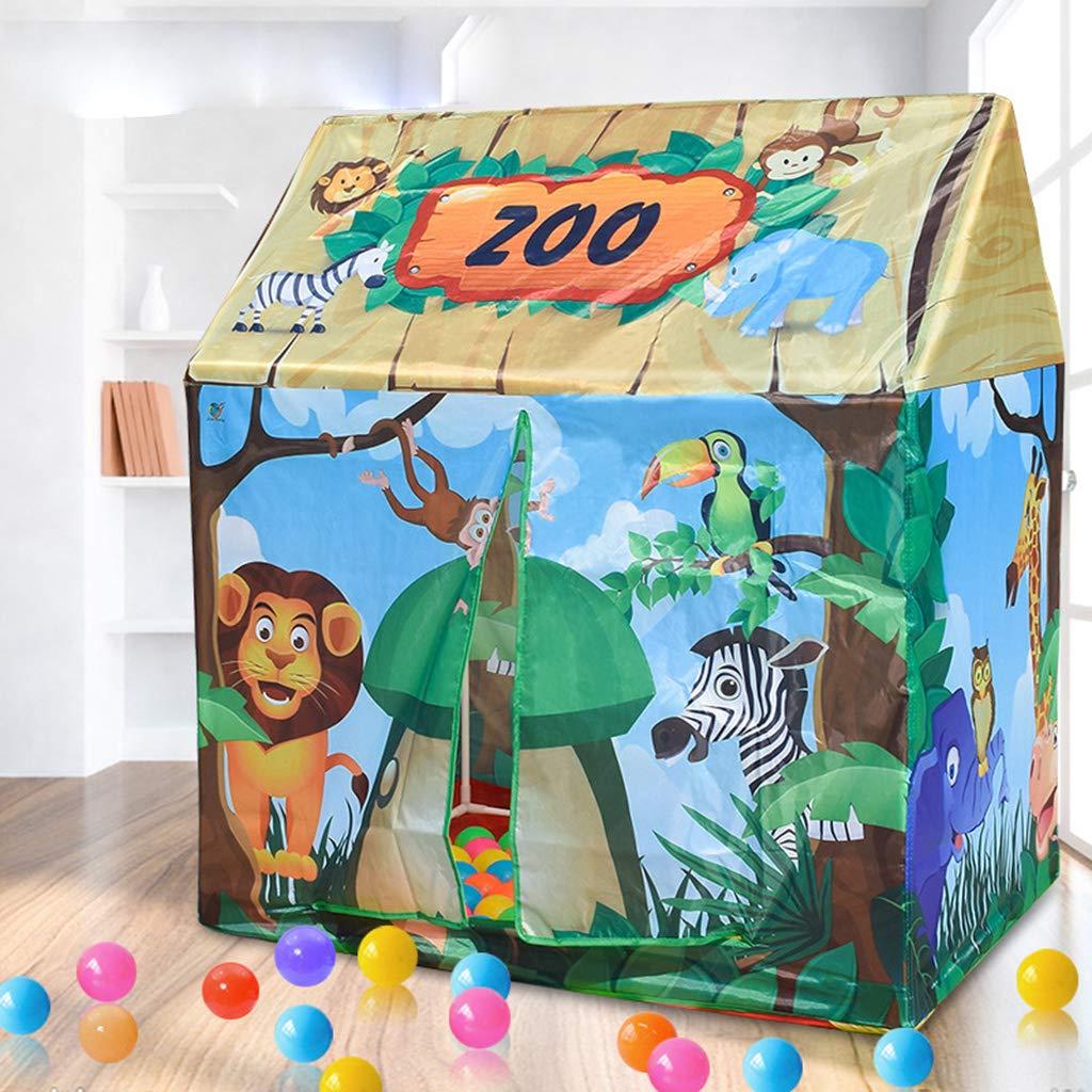 93 x 70 x 103 cm D/éroulement Taille D DOLITY Tente de Jeux pour Enfants Piscine /à Balles Portable Jouet Tente Int/érieure en Plein Air Rouge