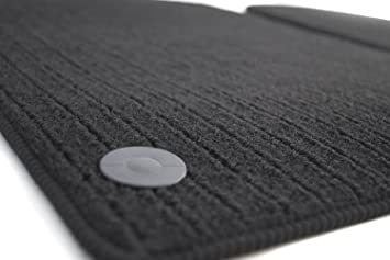 Fußmatten Ripsmatten Automatten 2 Teilig Schwarz Auto