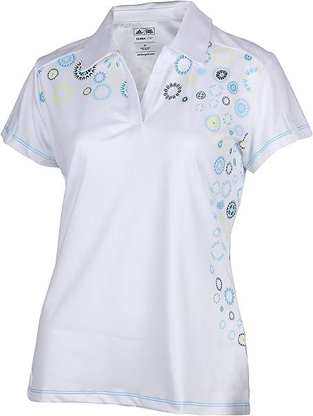 adidas Mujer Climalite Juego de impresión Athletic Polo: Amazon.es ...