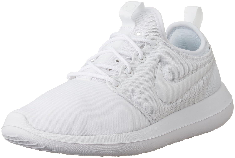 NIKE Women's Roshe Two Running Shoe B009BZJHWC 7.5 M US|White/White-Pure Platinum