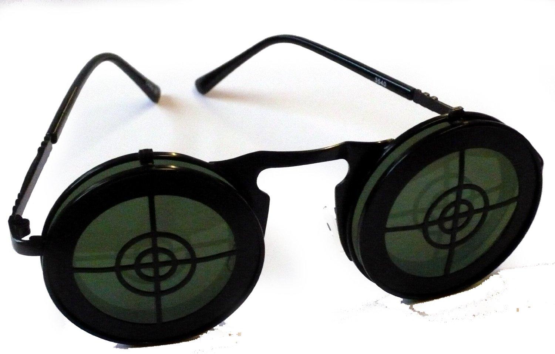 3540/112 (Black) Steampunk Target Glasses
