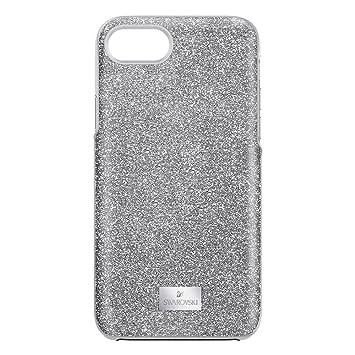 on sale f50cc 98f0b Swarovski High iPhone 7S Silver Phone Case 5380309: Amazon.co.uk ...
