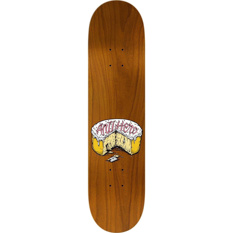 Anti Hero Skateboards Brian Anderson Shanks Skateboard Deck Toy Machine Sect Eye Orange 812 X 32 Sports Outdoors